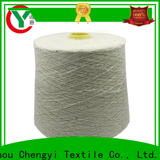 cheapest price sequin knitting yarn top light-weight