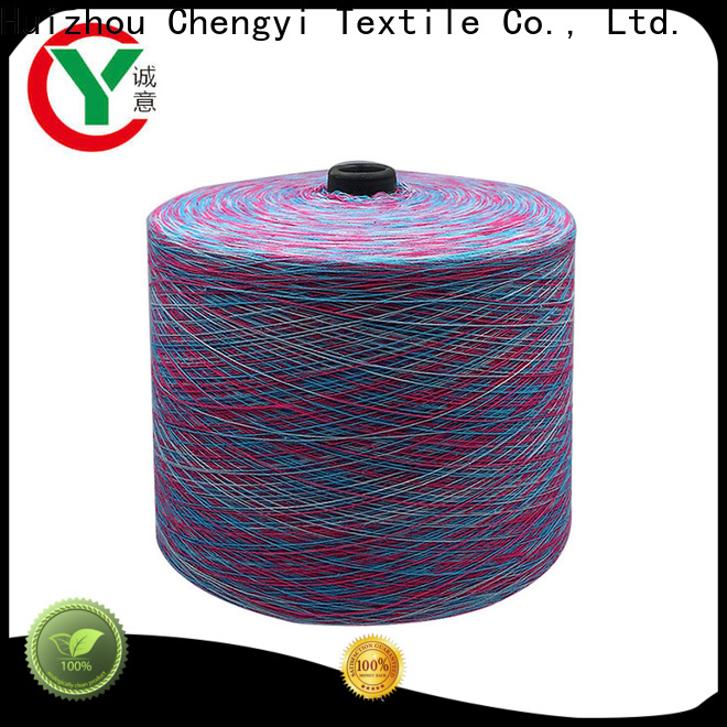 Chengyi rainbow yarn hot-sale best factory