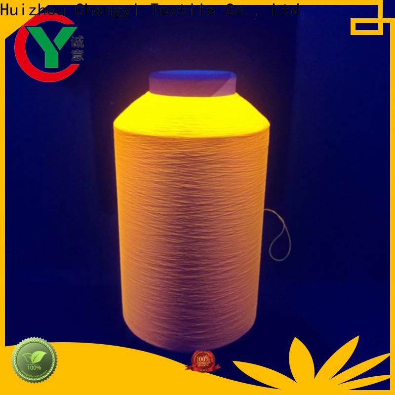 Chengyi glow in the dark yarn wholesale