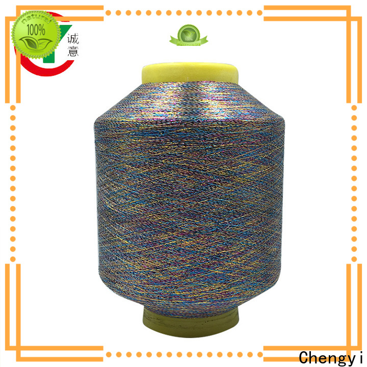 professional metallic knitting yarn popular fast delivery