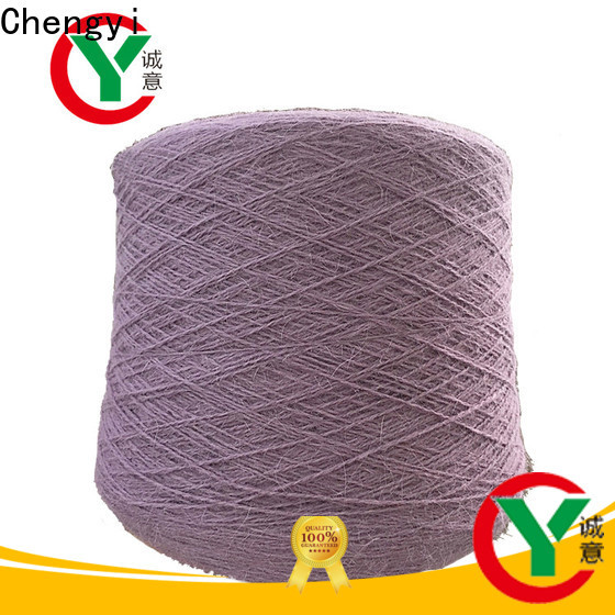 Chengyi fancy knitting yarn scarf manufacturing special structure