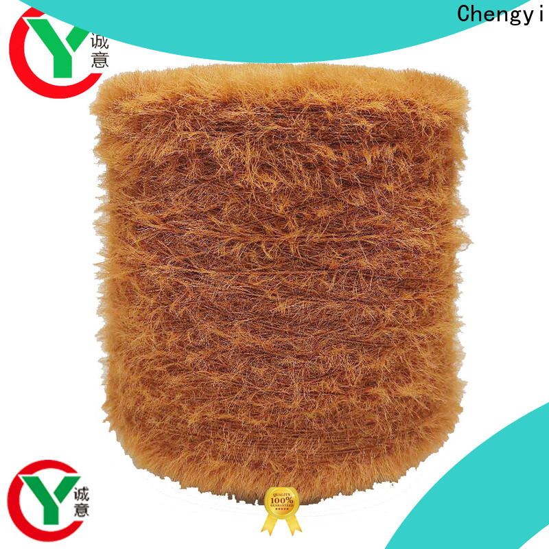Chengyi fancy yarn hats production special structure