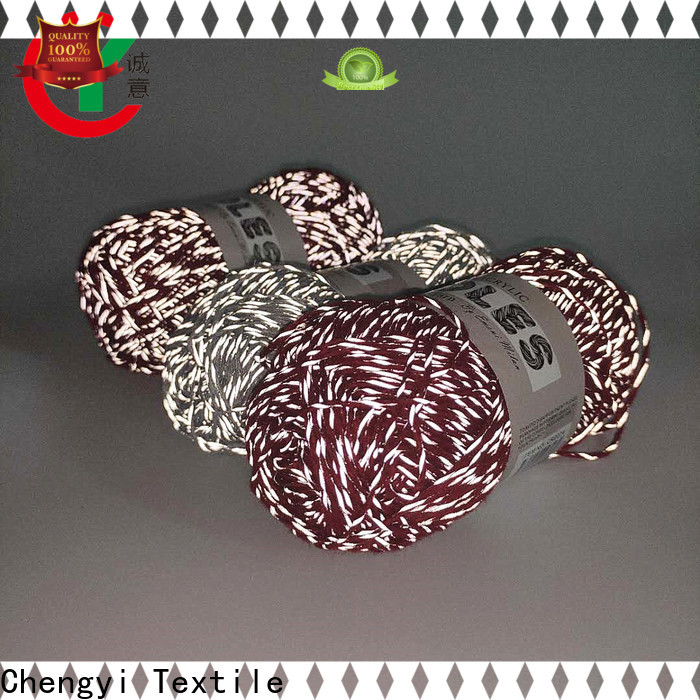 colorful reflective yarn suppliers wholesale factory price