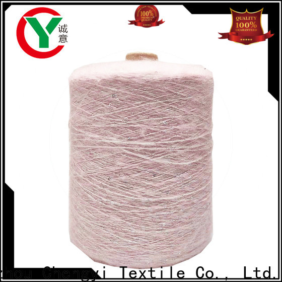 Chengyi fancy knitting yarn shoe upper special structure