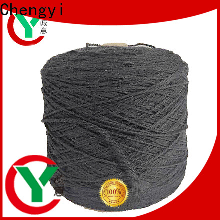 Chengyi factory price fancy yarn shoe upper clothes production