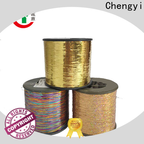 Chengyi metallic knitting yarn hot-sale factory direct supply