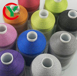 Custom width double-sides silver grey light reflex PET film thread soft  reflective fabric yarn for knitting