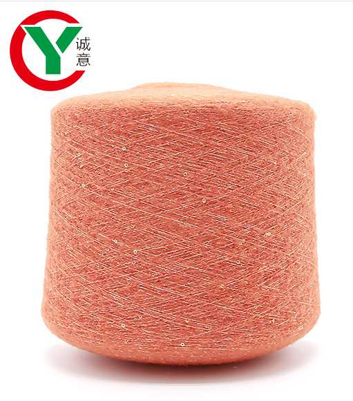 Manufacturer 50%Acrylic 30%Nylon 10%Polyester 10%Wool sequins yarn for knitting