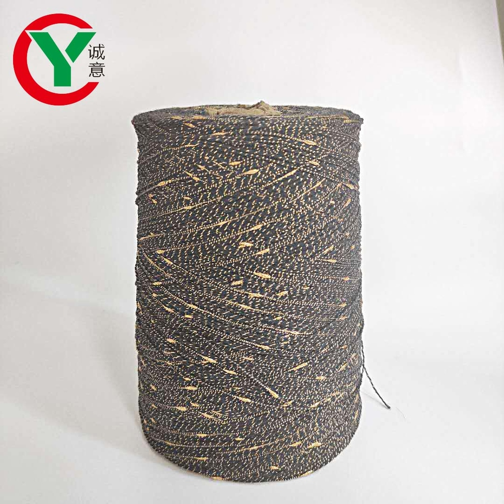 Colorful 100% Polyester Knot Yarn/Knop Yarn For Knitting