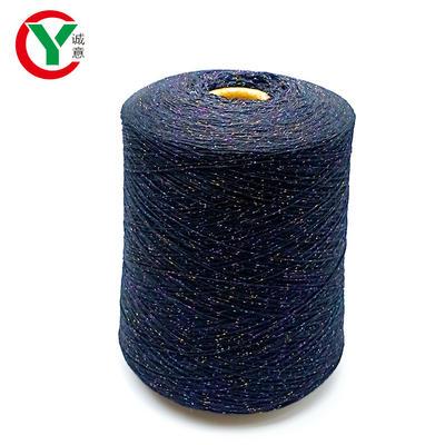 Germany popular acrylic swing with metallic thread / metallic yarn for 5GG 7GG flat machine knitting