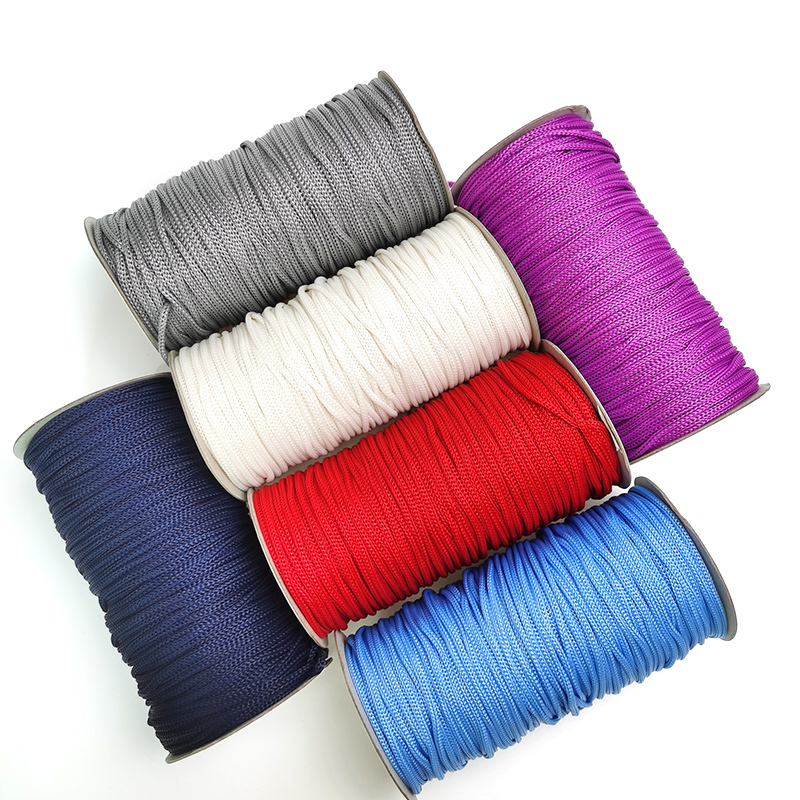 wholesale PP crochet yarn for hand knitting bags / 3mm 4mm 5mm polyester rope for resell