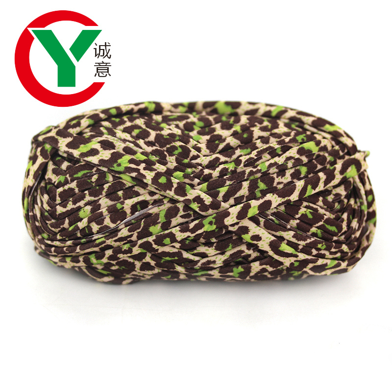 Wholesale Price Fancy Crochet T-shirt Yarn Polyester Yarn For Hand Knitting Bag